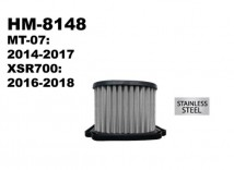 MT-07/XSR700 Hurricane Air Filter (Stainless Steel)