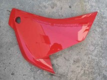 Honda CBR250R Right middle cowl in Red