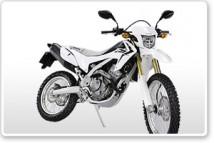 Honda CRF250L White Plastic Parts