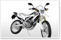 CRF250L Full Set of White Plastic Parts for 2017 model CRF250L