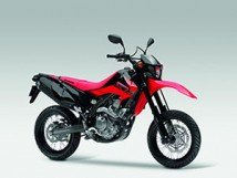 CRF250M Full Set of Extreme Red Plastic Parts FULL_CRF250M_EXTR_RED