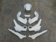 Honda MSX Plastics Pearl Himalayas White - Complete Set! MSX_WHITE_SET