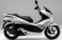 Complete Honda PCX Pearl White Plastic Parts