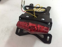 CRF250L/M Tail Tidy with brake & winker lights
