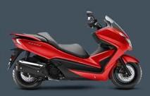 Honda Forza Full set of Red Plastic parts