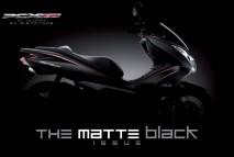 PCX Matte Black Plastic Set
