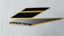 Yamaha Aerox 155 Graphic Set, Left Side Cover
