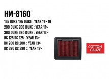 KTM Duke/RC Hurricane Air Filter (Cotton Gauze)
