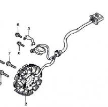 Honda CBR150R Stator Coil (Pre-2011)