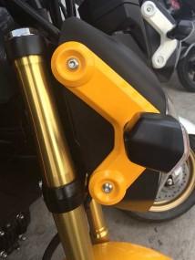 Honda MSX Right Boomerang  -Pearl Queen Bee Yellow
