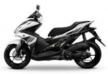 Yamaha Aerox White Plastic Set