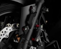 CNC 881 Brake Line Tee w//LightSwitch