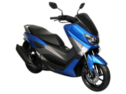 Yamaha NMAX Blue Plastic Parts