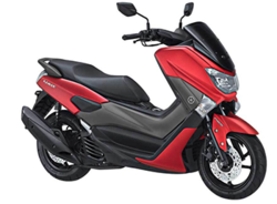 Yamaha NMAX Matte Red Plastic